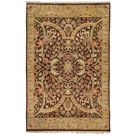 artistic rugs artistic weavers stratham brown 7 ft 9 in x 9 ft 9 in area rug jaipur 7999 the home depot