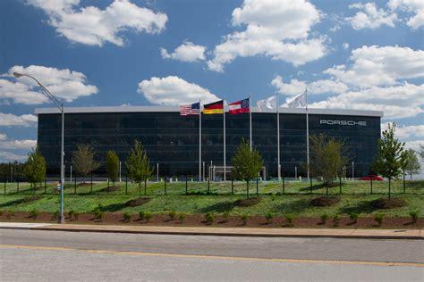porsche headquarters porsche opens new hq in atlanta georgia 187 autoguide news