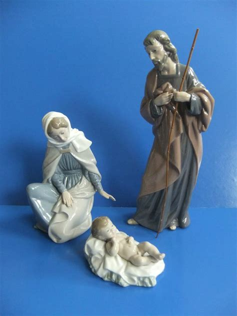 best 20 lladro nativity set ideas on pinterest