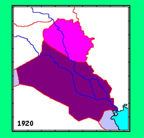middle east map in 1920 whkmla historical atlas iraq page