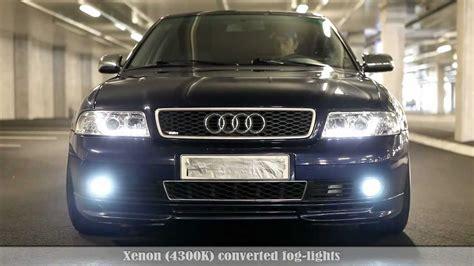 audi a4 b5 headlights audi a4 b5 led xenon kit demonstration vol2 new