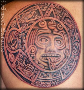 flower tattoo designs mystery meaning aztec tribal