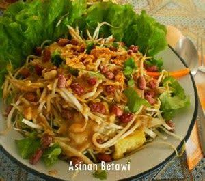 resep asinan betawi khas jakarta