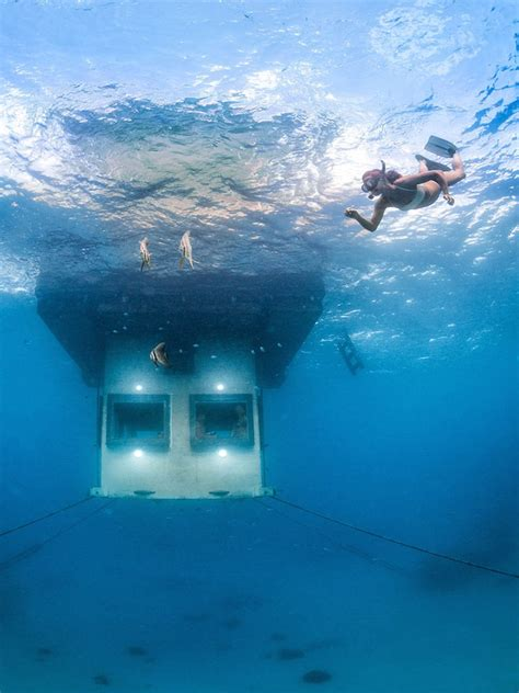 11 coolest underwater hotels in the world photos cond 233