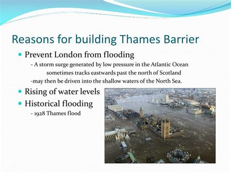 thames barrier cost to build ppt river thames powerpoint presentation id 2810971