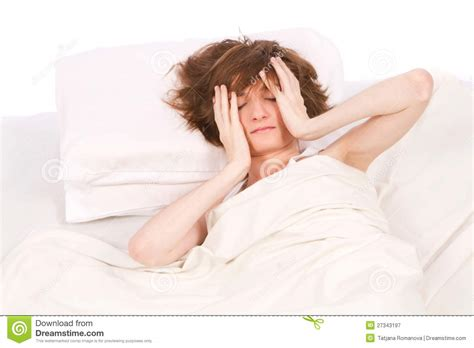 womens bedding women into bed royalty free stock photography image 27343197