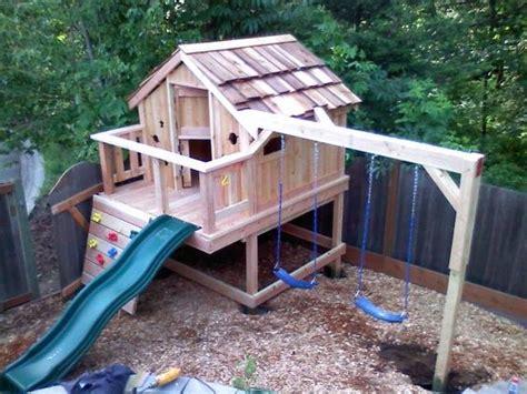 custom swing set sams custom sets swing set playhouse custom built for