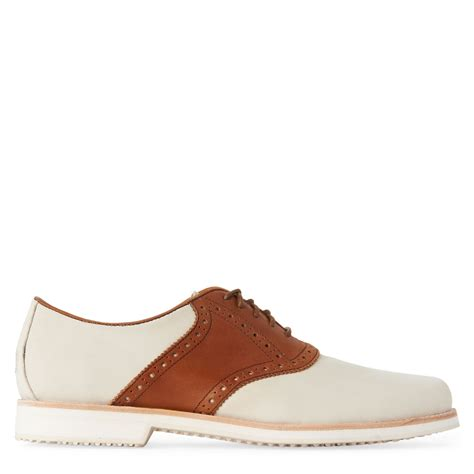 saddle oxford shoes polo ralph lars saddle oxford shoes in brown for