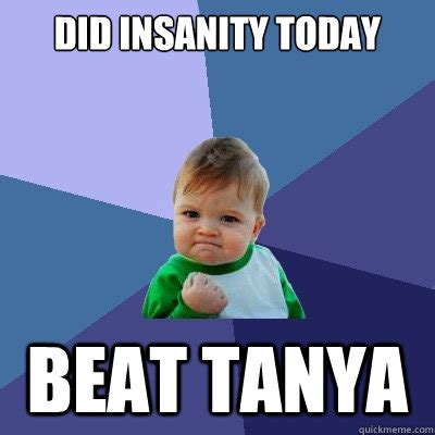 Insanity Workout Meme - shaun t taking on insanity