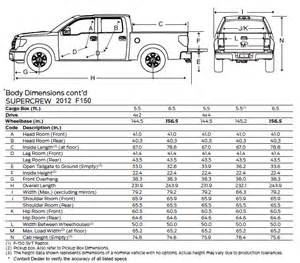 2015 Ford F 150 Dimensions Length Of A F150 Crew Cab Autos Post