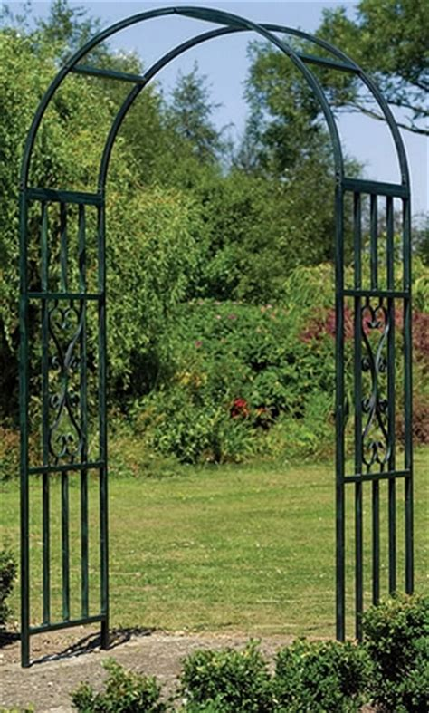 Metal Garden Arch Trellis Click An Image To Enlarge