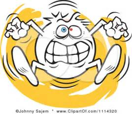 going crazy clipart