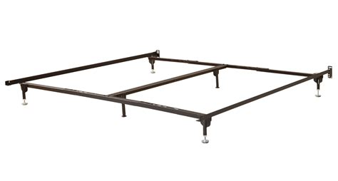 bed frame legs 6 leg metal bed frame