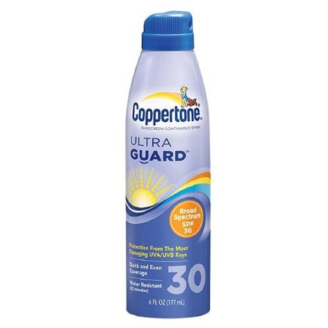 8 Best Sunscreens For The Ultimate Protection by Coppertone Ultraguard Sunscreen Continuous Spray Spf 30