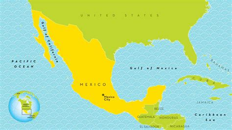 mexico geography gallery world map in mexico image collections word map images