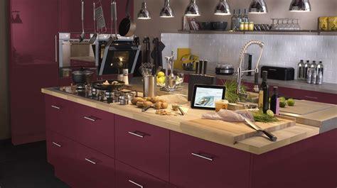 Supérieur Conception Cuisine Leroy Merlin #4: 07946413-photo-plan-de-travail-bois-cuisine-aubergine.jpg