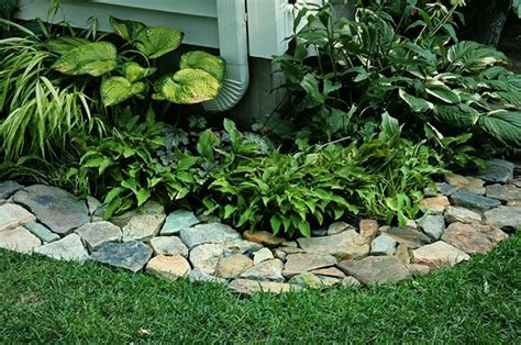 loving the rock path border outdoor livin pinterest rock path paths and gardens