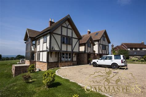large country homes large country house with glazed gables oakmasters