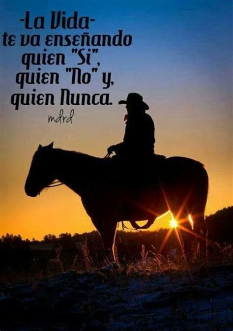 imagenes de vaqueras a caballo con frases image about frases en espa 241 ol in quotes by alejandra medina