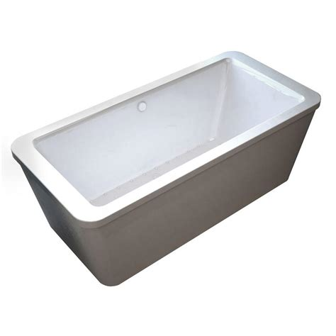 pearl bathtubs universal tubs pearl 5 6 ft center drain whirlpool and air bath tub in white hd3467rd
