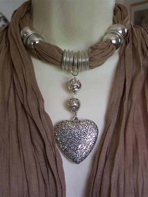 how to make jewelry scarves jewelry scarf necklace scarf necklace