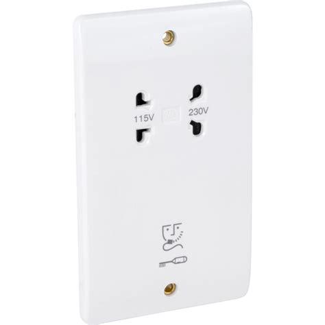 shaver socket wiring mk shaver socket dual voltage toolstation