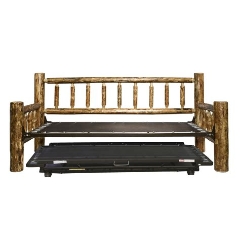 Pop Up Bed Frame Montana Woodworks Mwgcdbt Glacier Country Daybed With Pop Up Trundle Mechanism Atg Stores