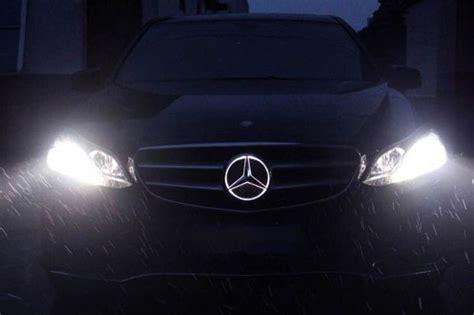 Mercedes Light Up Emblem by Install Mercedes Led Illuminated Grille Emblem