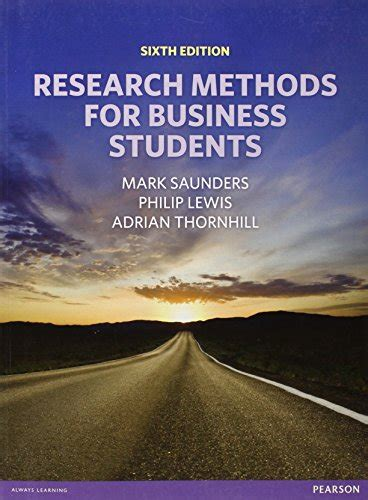 Research Methods For Business 7th Edition librarika research methods for business students 7th