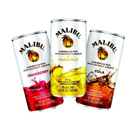 malibu premixed cans malibu expands single serve cocktails the beverage journal