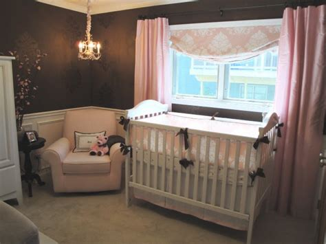 pink and brown baby room brown and pink sophisticated nursery design dazzle