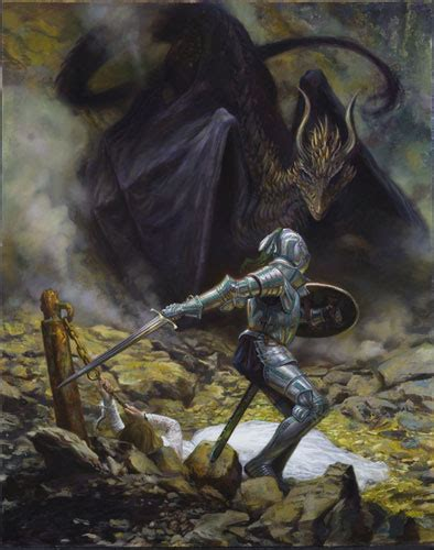 donato giancola st george and the dragon