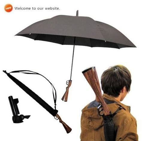 Parasol Sunblock 20 Gr rifle wooden handle gun umbrella 100 sunscreen upf gt 40 parasol windproof 3 5mm