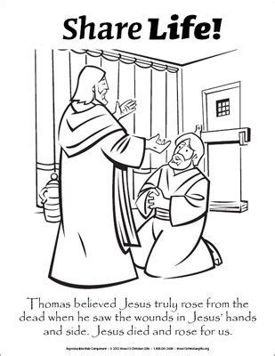 coloring page for doubting thomas 17 best images about doubting thomas on pinterest christ