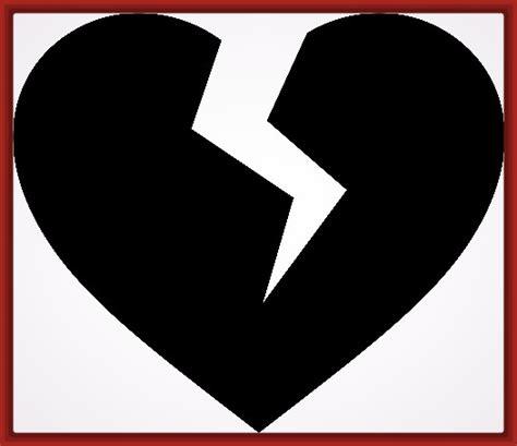imagenes de corazones rotos para colorear imagenes para dibujar corazones rotos fotos de corazones