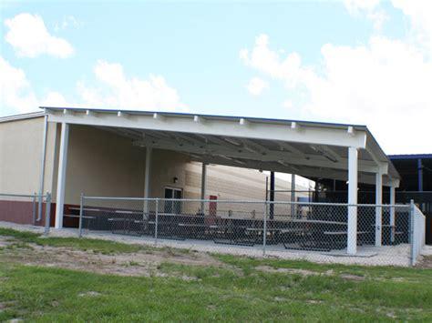 Metal Roof Car Shelter Steel Single Slope Shelter Manufacturer Rcp Shelters