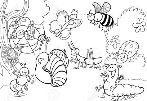 garden insects coloring page top 82 insect coloring pages free coloring page