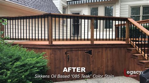 deck staining carmel  legacy painting