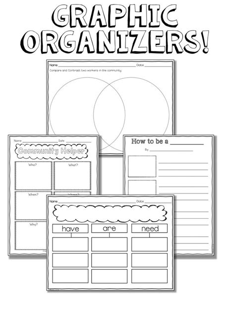 printable graphic organizers 25 best ideas about graphic organizers reading on