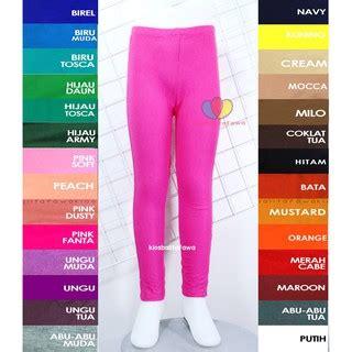Celana Legging Kaos Celana Cewe legging polos uk 3 5 tahun celana anak panjang perempuan leging kaos ketat cewek murah