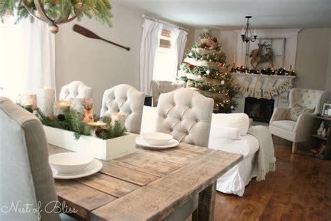 christmas farmhouse tour nest of bliss