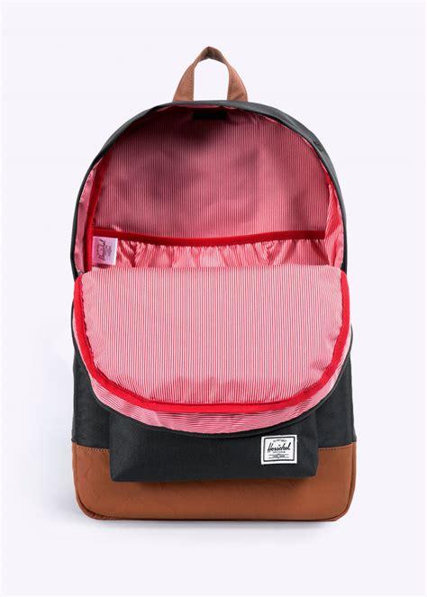 herschel supply co heritage bag black