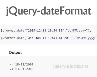 format date using jquery 25 flexible jquery date time ginva