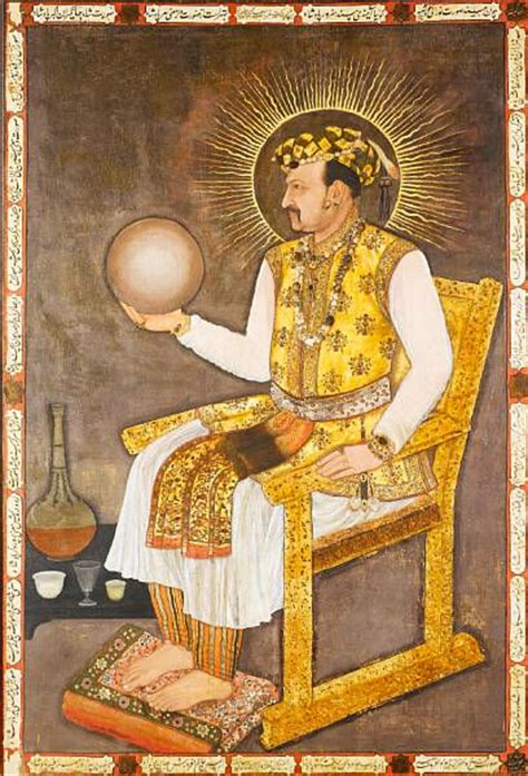 mughal masterpiece portrait  emperor jahangir sells