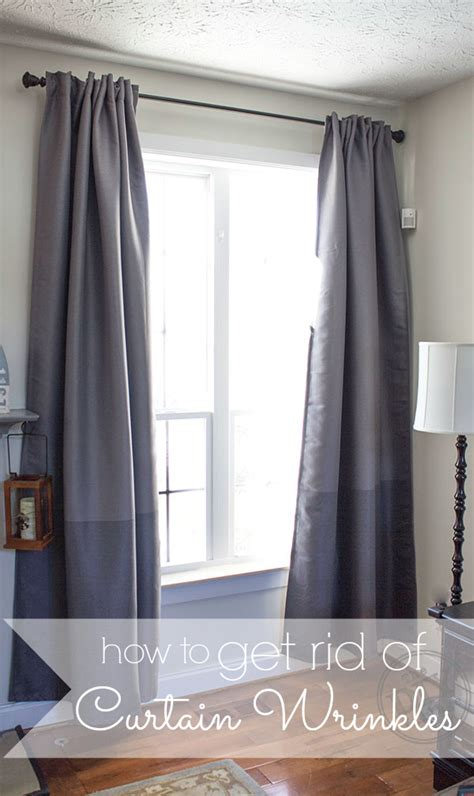 wrinkles out of curtains how to get rid of wrinkles in curtains without an iron