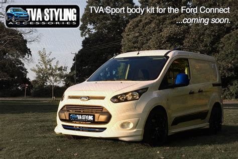 ford transit connect body kit    released trade van accessories  styling