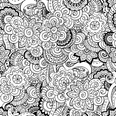 oriental pattern black and white seamless asian floral retro background pattern stock