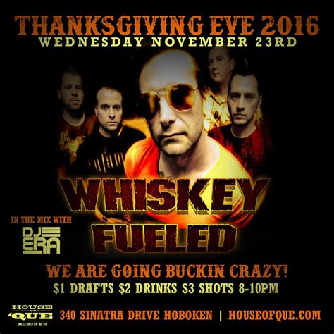 house of que the ultimate thanksgiving weekend events guide to hoboken and jersey city 2016