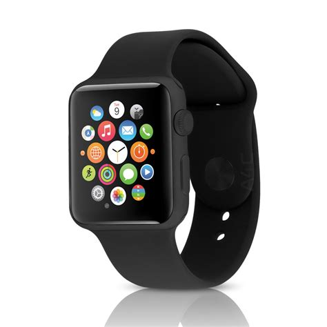 apple sport aluminum apple sport 42mm space gray aluminum w black