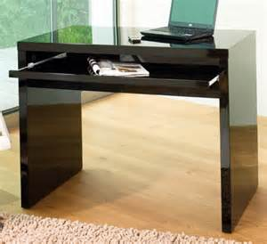Dwell Office Desk High Gloss Computer Desk Black Office Desks Tables Dwell Retail Limited Findmefurniture